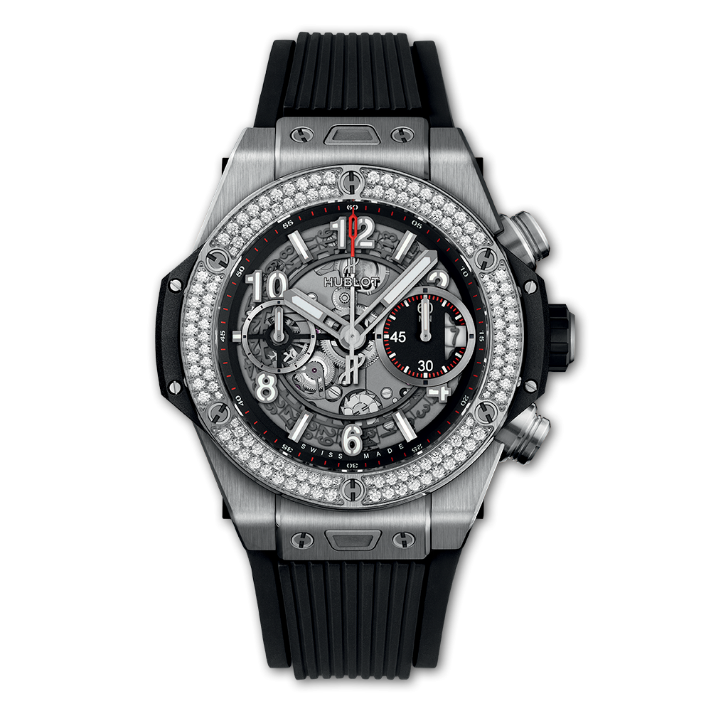 BIG BANG <br> UNICO TITANIUM DIAMONDS 42MM