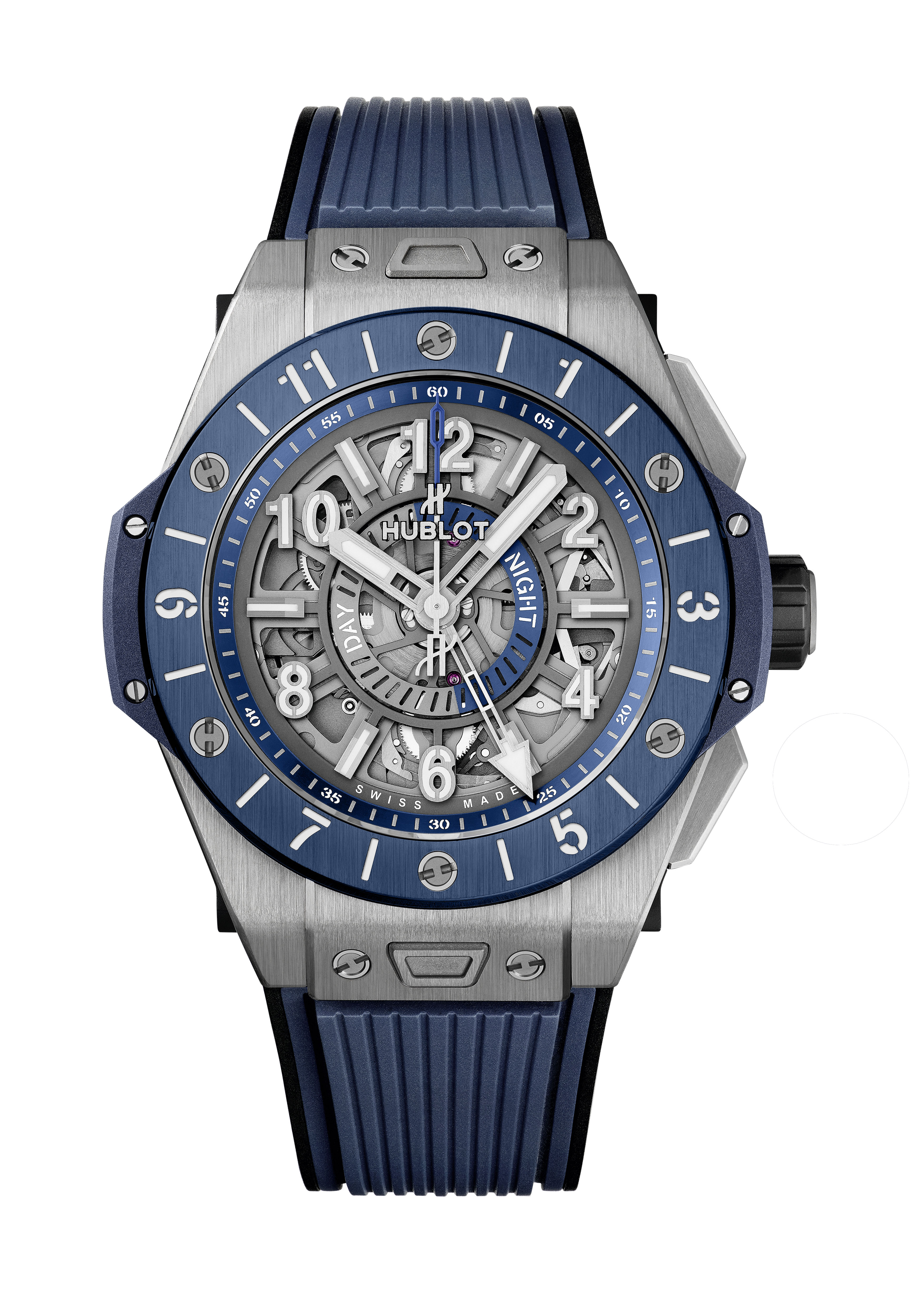 BIG BANG <br> UNICO GMT TITANIUM BLUE CERAMIC