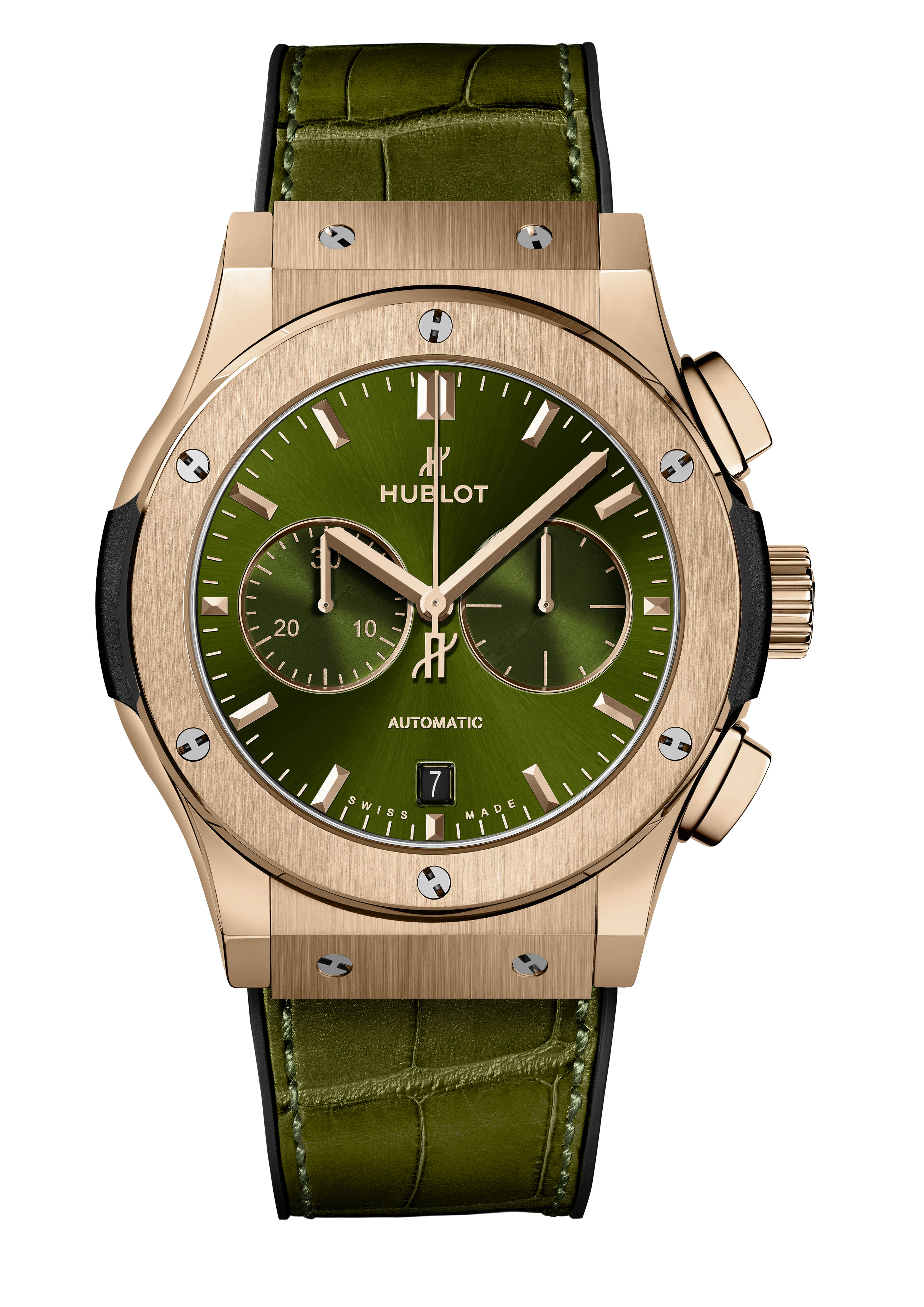 CLASSIC FUSION <br> CHRONOGRAPH KING GOLD GREEN