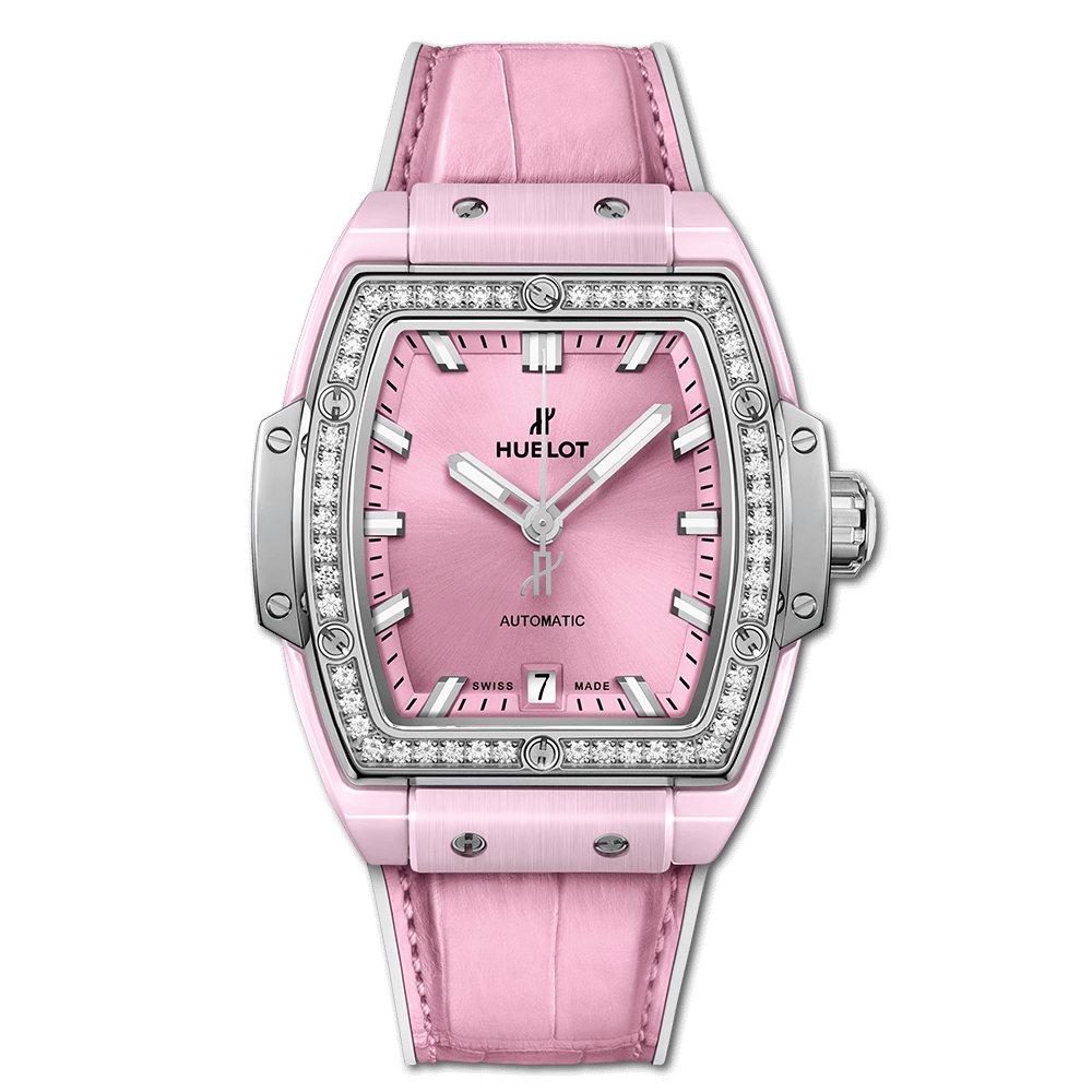 SPIRIT OF BIG BANG PINK CERAMIC TITANIUM DIAMONDS