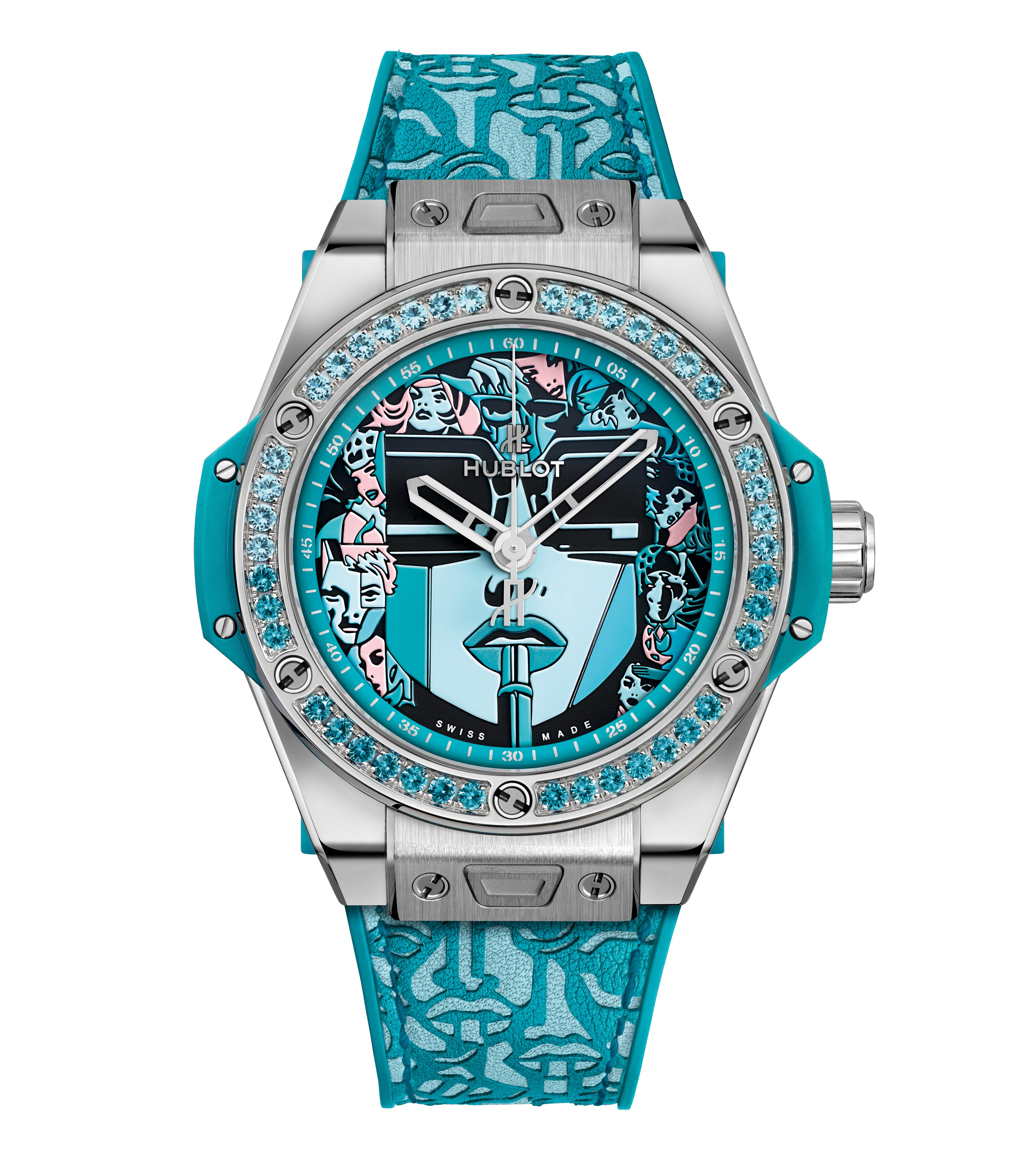 BIG BANG ONE CLICK <br> MARC FERRERO STEEL TURQUOISE