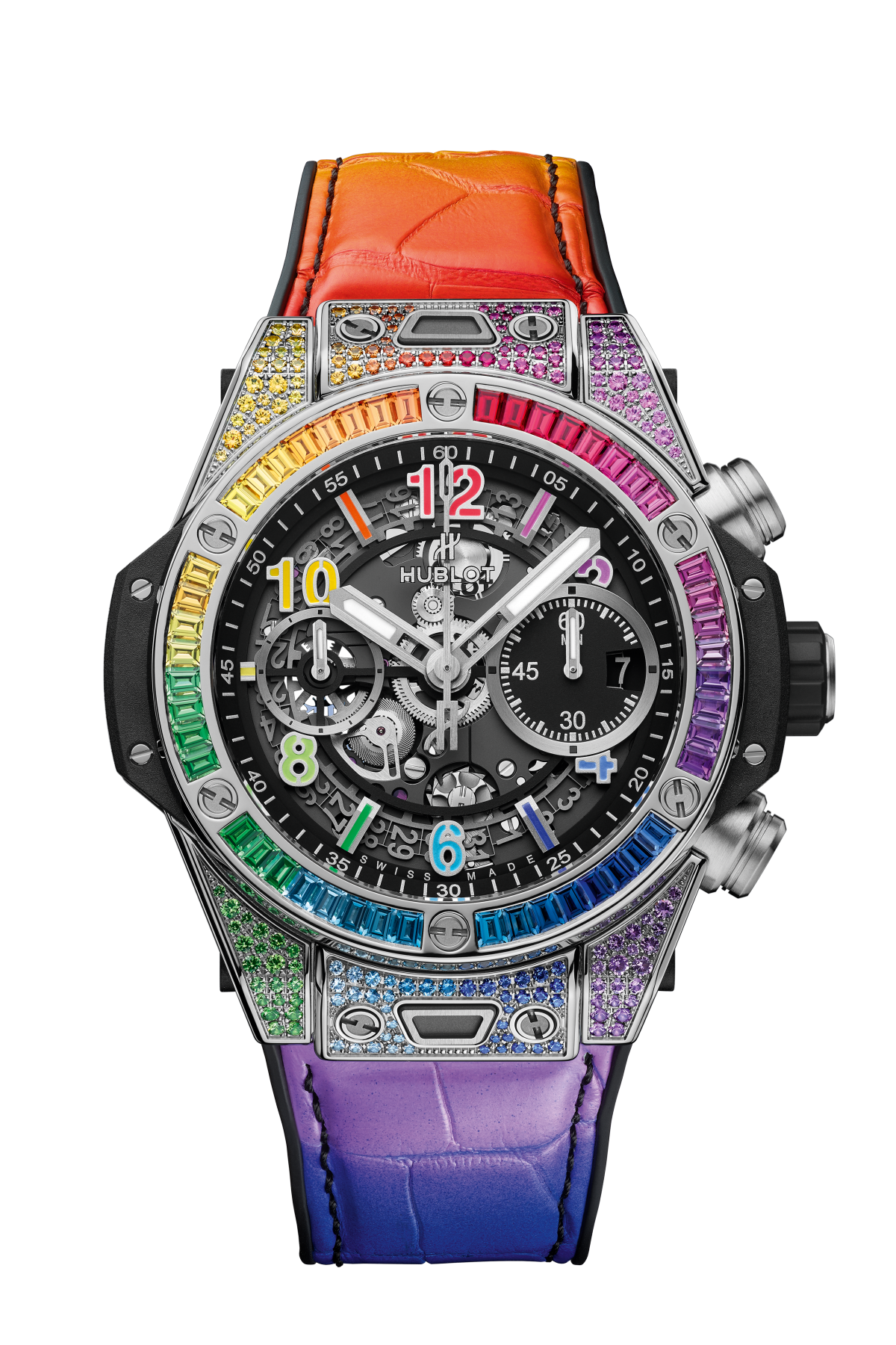 BIG BANG UNICO TITANIUM RAINBOW