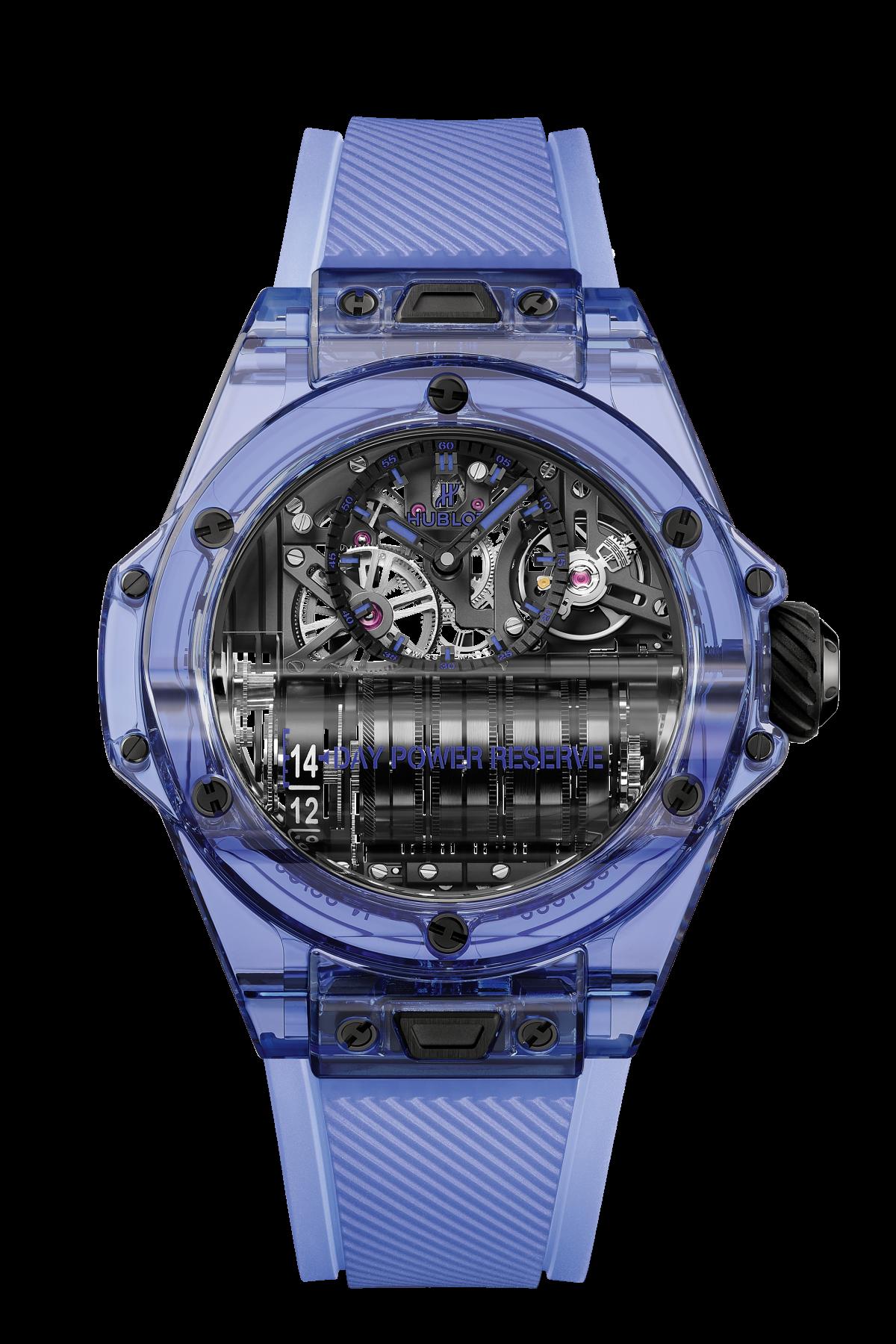 BIG BANG MP-11 POWER RESERVE 14 DAYS BLUE SAPPHIRE