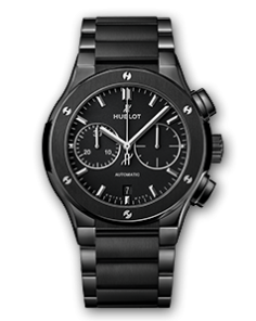 CLASSIC FUSION CHRONOGRAPH BLACK MAGIC BRACELET