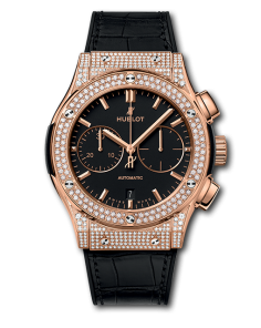 CLASSIC FUSION CHRONOGRAPH KING GOLD PAVE