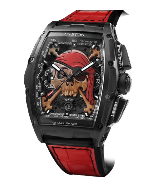 CHRONOGRAPHE CHRONO II INVADERS PIRATE