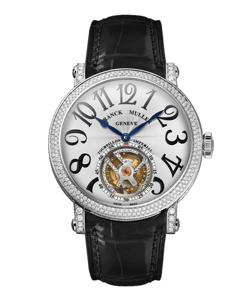 ROUND 7 DAYS DIAMONDS TOURBILLON