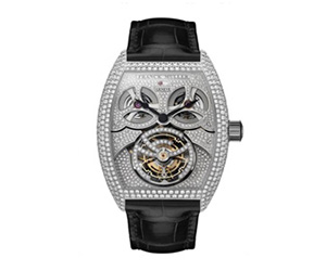 GIGA TOURBILLON SETTED BRIDGE DIAMONDS