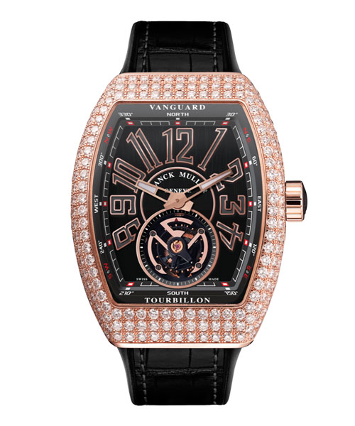 VANGUARD MEN TOURBILLON DIAMONDS