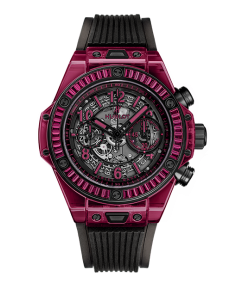 BIG BANG UNICO RED SAPPHIRE BAGUETTES