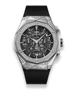 AEROFUSION CHRONOGRAPH ORLINSKI TITANIUM ALTERNATIVE PAVE