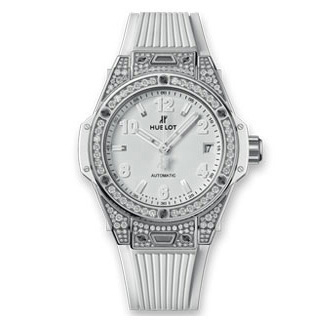 BIG BANG ONE CLICK STEEL WHITE PAVE