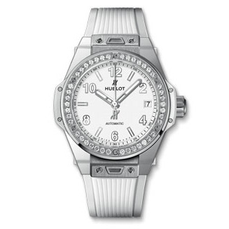 BIG BANG ONE CLICK STEEL WHITE DIAMONDS