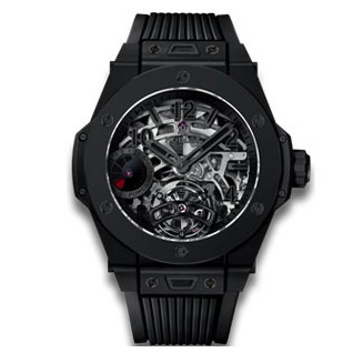 TOURBILLON POWER RESERVE 5 DAYS ALL BLACK
