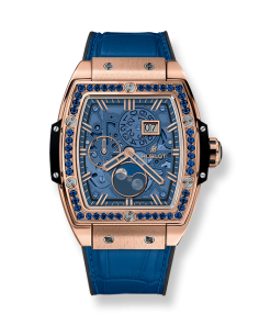 SPIRIT OF BIG BANG MOONPHASE KING GOLD DARK BLUE