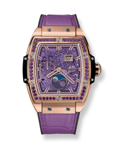 SPIRIT OF BIG BANG MOONPHASE KING GOLD PURPLE