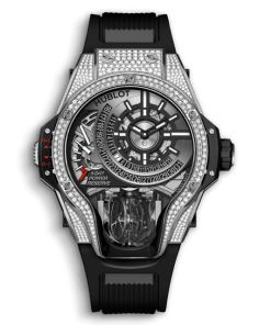 MP-09 TOURBILLON BI-AXIS TITANIUM PAVE