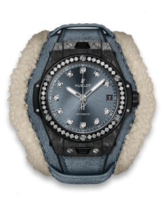 BIG BANG UNICO ALPS LIMITED EDITION FROSTED CARBON DIAMONDS