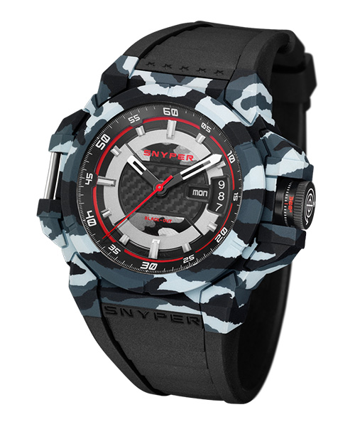 Snyper TWO Black PVD Grey Camo
