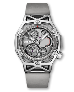 TECHFRAME FERRARI TOURBILLON CHRONOGRAPH SAPPHIRE WHITE GOLD