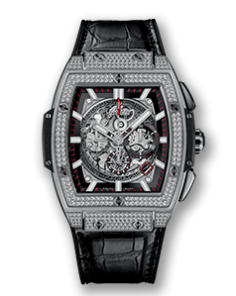 SPIRIT OF BIG BANG TITANIUM PAVE