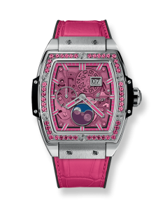 SPIRIT OF BIG BANG MOONPHASE TITANIUM PINK