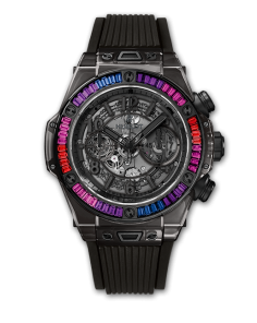 BIG BANG UNICO ALL BLACK SAPPHIRE GALAXY